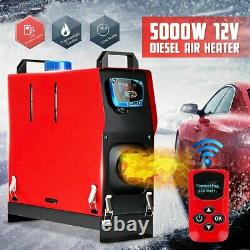 12V 5KW Diesel Air Heater Car Parking Heater All In 1 For Boat Trailers Truck RV