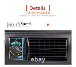 12V Car Truck Air Conditioning Kit Universal Cooling A/C Compressor Refit 3Speed