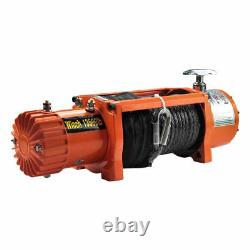 13500 lb Electric Recovery Trailer Winch 4x4 Truck Car Wireless DC 12V Off Road