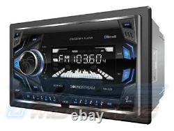 95-02 Gm Truck / Suv Style Screen Bluetooth Double Din Car Stereo Radio Kit Chev