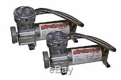 Air Compressors 400 Pewter 1/2npt Valves 2500 & 2600 Air Bags Clear 7 Switch