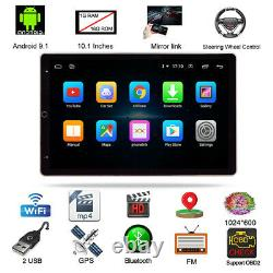 Android 9.0 Rotating Big Screen Stereo Radio GPS Player Fit For Car Truck SUV