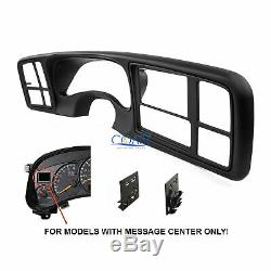 Car Radio Stereo Double Din Dash Kit for 1999-02 GM Full-size Trucks and SUV's