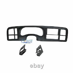 Car Stereo Double Din Dash Kit for 1999 2002 GM Full-size Trucks and SUV's
