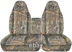 Front set car seat covers fits FORD F150 TRUCK 97-03 40/60 HIGHBACK With CONSOLE