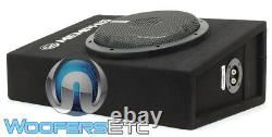 Memphis Csa110e 10 Sub 700w Shallow Subwoofer In Truck Sealed Box Enclosure New