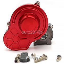 Metal Transmission Gearbox with Steel Gear For 1/10 Axial SCX10 RC Car Truck