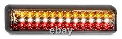 Pair Led Stop/tail/reverse Lights Car 4wd Float Truck Trailer 200birstm