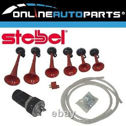Stebel Musical Air Horn Kit The Godfather Tune 12 volt Car Truck SUV Loud