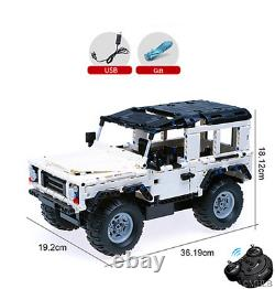 TECHNIC RC 42110 Land Rover Defender Jeep Wrangler 4X4 Lego Compitible Off-Road